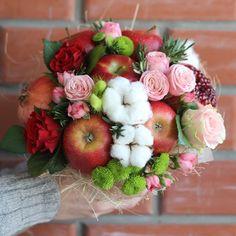 Букеты из фруктов и овощей на любой праздник