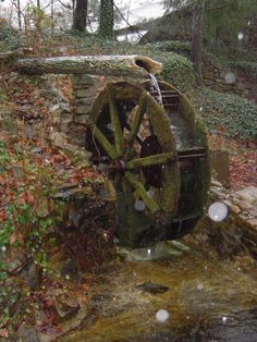 Water Wheel at Rock City (Photo - Joe Stott)