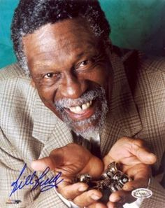 Basketball Legend Bill Russell personally hand-signed this Photo. This Five-time NBA MVP and NBA All-Star was the cornerstone of the Celtics dynas Basketball Pictures, Love And Basketball, Basketball Jones, Nba Pictures, Basketball Stuff, Basketball Funny, Jordan Basketball, Nba Players, Basketball Players