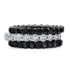 Style Black & white eterni fashion love Black Diamond Jewelry, Black Jewelry, I Love Jewelry, Body Jewelry, Jewelry Accessories, Fine Jewelry, Diamond Jewellery, Prom Jewelry, Skull Jewelry