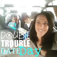 #DATE Day with my boys! We had fun running errands and  grabbing lunch. They were extremely well behaved and made their mother #proud!