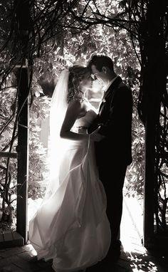 Timeless wedding photo!