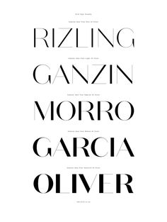 Domaine Sans Typeface Family. Australian Design Biennale