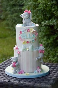 Tatty Teddy - Cake by Shereen