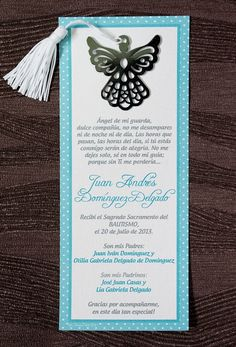 Tienda My Design Baptism Invitation For Boys, Baptism Invitations, Baptism Cards, Baptism Favors, Ideas Bautizo, Baby Boy Baptism, Gift From Heaven, First Communion, Baby Party