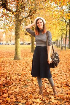 so simple, and chic.  love the hat, and boots the most :)