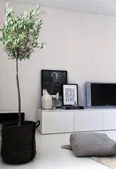 Идеи по дизайну гостиной, стена с ТВ