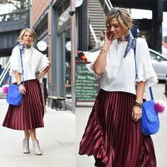 88b514df8 ZARA MAROON PLEATED MIDI SEMI LONG SKIRT XS-L. Zara has yet again launched  another beauty that has been adored by many style icons.