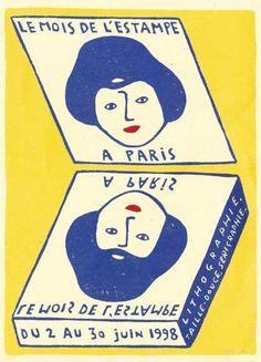 Paul Cox - Le mois de l'estampe, Paris (1998)