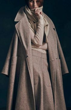 The Stories — Chapter 52 — Quiet and Singular: The Intimate World of Christophe Lemaire — TH Christophe Lemaire, Fashion Gone Rouge, Mode Inspiration, Fashion Inspiration, Trends, Autumn Winter Fashion, Winter Maxi, Fall Winter, Editorial Fashion