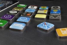 iPhone App Magnets.