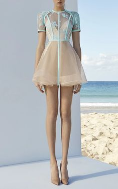 Arley Mini Dress by ALEX PERRY for Preorder on Moda Operandi