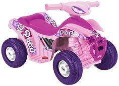 OFERTA QUAD POP FEBER ELÉCTRICO 6V COLOR ROSA. IDEAL 1 A 3 AÑOS. FEBER 800008702, IndalChess.com Tienda de juguetes online y juegos de jardin