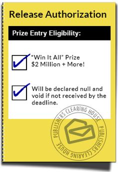 AVOID CANCELLATION! Activate Your Official Prize Number Now! | PCH ...