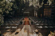 11 Unique, Urban-Chic Downtown LA Wedding Venues on Here Comes The Guide | Venue pictured: Millwick • Los Angeles, CA