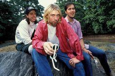 Nirvana, 7/24/93 New York, photo by Hugo Dixon