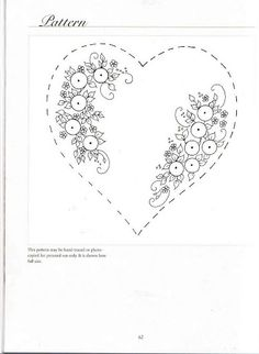 Ribbon Embroidery Flowers by Hand - Embroidery Patterns Hand Embroidery Patterns Flowers, Embroidery Hearts, Hand Embroidery Videos, Hand Embroidery Stitches, Silk Ribbon Embroidery, Modern Embroidery, Embroidery Hoop Art, Hand Embroidery Designs, Vintage Embroidery