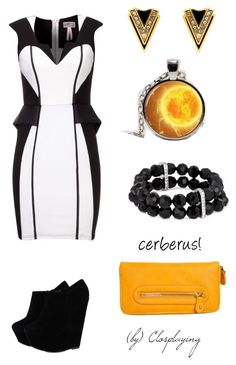 Miranda Lawson Closplay by closplaying on Polyvore featuring polyvore fashion style Lipsy Pieces Jon Richard Juicy Couture clothing