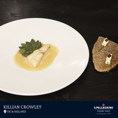 Killian Crowley will represent the UK & Ireland with his turbot, kohlrabi and sea purslane.