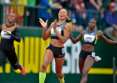 Allison Felix smashes 200 meter Olympic Trials Record, proving you can be fierce, strong and beautiful all at once!