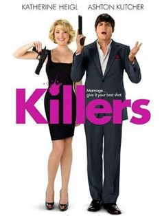 Katherine Heigl: New 'Killers' Movie Poster! Here's the latest poster for the upcoming romantic comedy, Killers, starring Ashton Kutcher and Katherine Heigl. Funny Movies, Comedy Movies, Great Movies, Funniest Movies, Movies Free, Watch Movies, Scary Movies, Ashton Kutcher, Love Movie