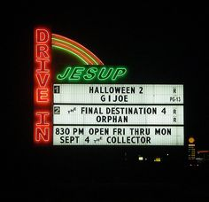 Jesup Drive In.... Wayne County Georgia - yes, we still have a few drive-ins left in Georgia!