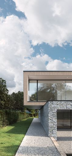 Hurst House by Strom Architects - Exteriors by Jonathan Evans, via Behance