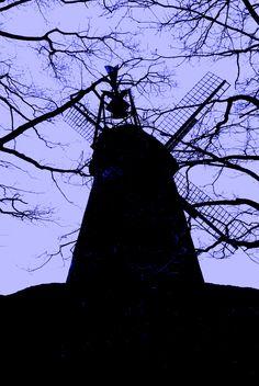 Windmühle Nordhemmern, Greftmühle, Wall-Holländer von 1838