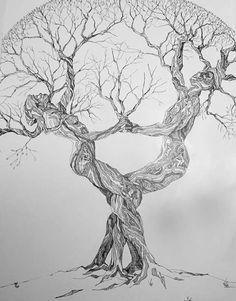 33 Tree Tattoo On Wrist - Tree Tattoos Nature Tattoos, Life Tattoos, Body Art Tattoos, Tree Drawings Pencil, Art Drawings Sketches, Tree Of Life Art, Tree Art, Tatoo Tree, Tree Tattoo Designs