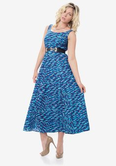 Midnight Blue Printed Maxi Dress - £69 http://www.ker-i.com/collections/summer-clothes-collection/products/midnight-blue-printed-maxi-dress