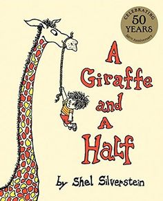 A Giraffe and a Half by Shel Silverstein http://www.amazon.com/dp/0060256559/ref=cm_sw_r_pi_dp_ceN6vb1RDGPN1