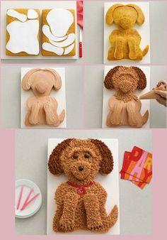 Cake Art, Gingerbread Cookies, Fondant, Goodies, Food And Drink, Homemade, Birthday Cakes, Birthday Ideas, Diy