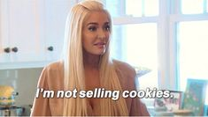 """When she knew exactly what her brand was all about. 