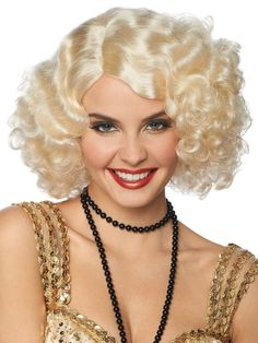 Check out Broadway Flapper Wig Roaring 20's - Cheap Roaring 20's for Kids And Adults from Costume Discounters