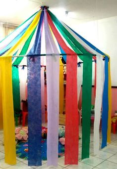 This circus corner can be the ideal place to snoezelen or to play fantasy . - Back to School