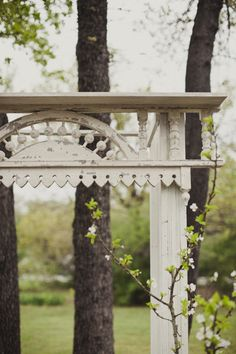 outdoor archway from architectural salvage