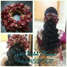 fresh flower hair accessories #yukibridal #pellipoola