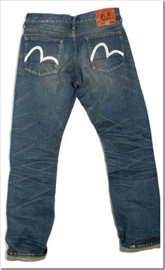 206ea74ee3e1 Evisu Hand Painted Jeans
