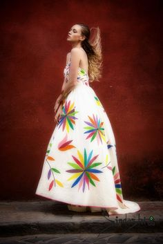Silk Dress Design, Mexican Fashion, Mexican Dresses, Picture Poses, Designer Dresses, Strapless Dress, Fashion Dresses, Womens Fashion, Instagram Posts