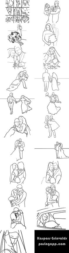 ideas for wedding poses...
