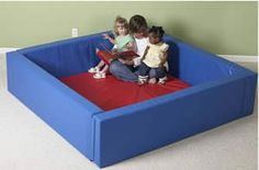 """A colorful play area with an impressive number of possibilities! At a height of 18"""" a child is aware of boundaries which can help keep things in order for a small moment in time. 5"""" thick walls that attach together using hook & loop flaps.320-107"""