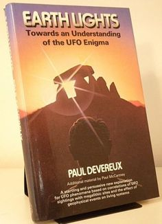 JUNE 14 2012 On this day in 1947 a UFO is said to have crash-landed in Roswell, New Mexico. BOOK OF THE DAY Paul Devereux   Earth Lights: Towards an Understanding of the Unidentified Flying Objects Enigma. 1st edition 1982. Near Fine copy in similar unclipped dust-jacket. £9.30