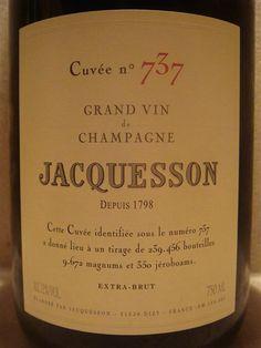 NV Jacquesson & Fils Champagne Cuvée No. 737