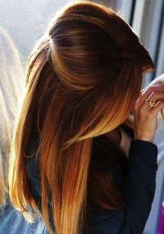 20 Wege zu Tragen Pony Frisuren auf Ombre Hair // #Frisuren #hair #Ombre #Pony #Tragen #Wege