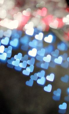 Someday I will try bokeh - and heart bokeh is always beautiful!