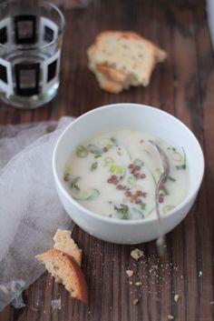 Cold Lentil Yogurt Soup - http://www.journeykitchen.com/2011/07/cold-lentil-yogurt-soup.html