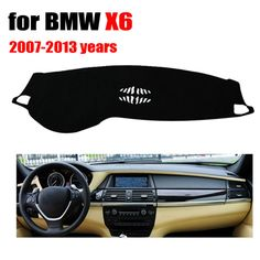 Car dashboard covers for BMW X6 Low configuration 2007-2013 Left hand drive dashmat pad dash cover auto dashboard accessories