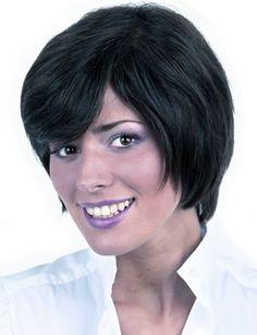 International Wigs®: Fiesta Human Hair by Trend European Short Wigs, 100 Human Hair, New Trends, Color Show, Short Hair Styles, Take That, Unique, Fiestas, Bob Styles