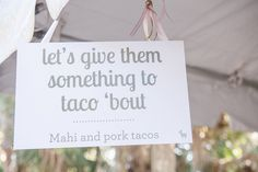 love these clever menu signs! | 13:13 Photography #wedding