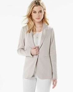 Shop blazers for women at Express. A black blazer, pinstripes or sleeve details will help you make a lasting impression. Try our boyfriend blazers or cropped blazers too! Cropped Blazer, Red Blazer, Blazers For Women, Cardigans For Women, Sweater Shop, Fashion Show, Fashion Spring, Clothes For Women, Spring 2016